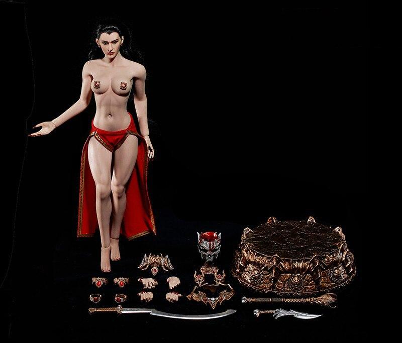1/6 Весы Модель комплект вампира queen фигурку изысканный сексуальный Красивая игрушечная кукла рисунок Совместное Подвижные Бесплатная дост