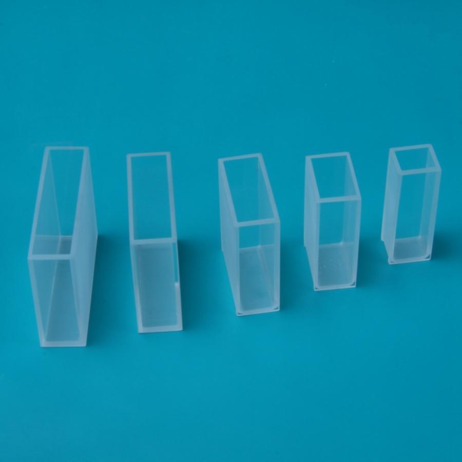 Inside Length 5/10/20/30/40/50/100mm Inside Width 10mm Optical Glass Cuvettes Cell Spectrophotometer UV-1800 UV-2000 UV-2800