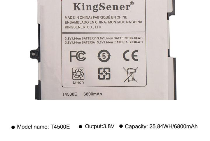 Samsung Galaxy Tab 3 üçün KingSener T4500E T4500C dəyişdirmə - Noutbuklar üçün aksesuarlar - Fotoqrafiya 4