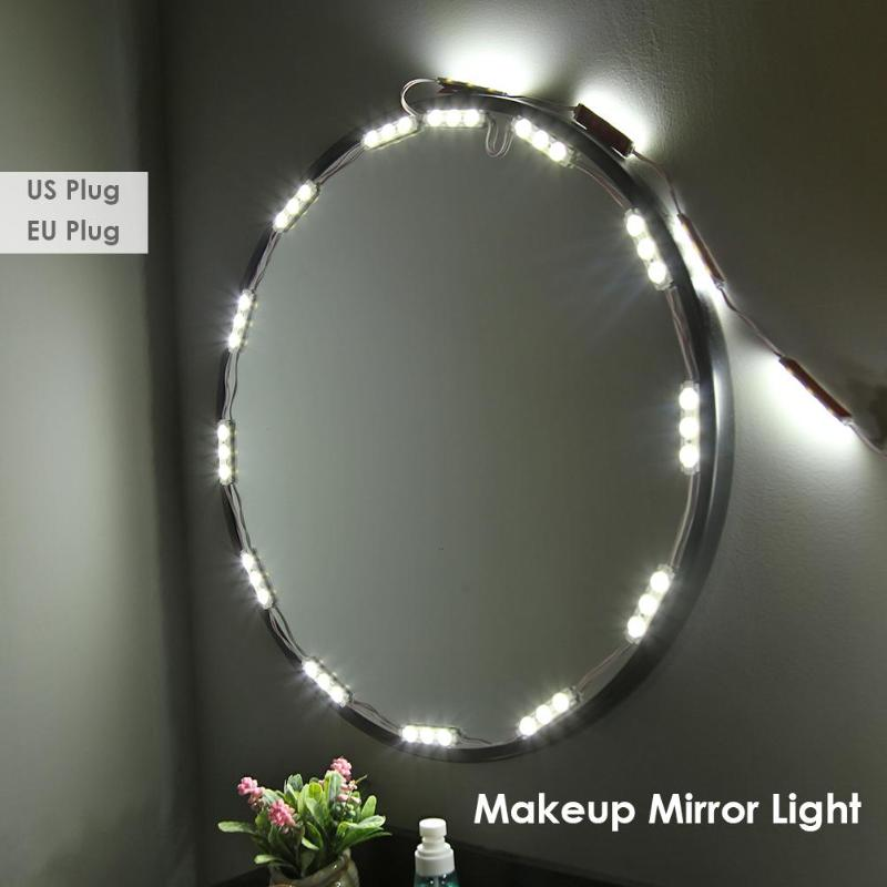 60 LED Bulb Vanity Makeup Mirror Lights P67 Dimmable Dresser Cosmetic Lamp