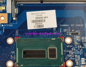 Image 3 - Echtes 856692 601 856692 001 15287 1 448.08C01.0011 w i3 5005U CPU Laptop Motherboard für HP Notebook 17 17 X Serie PC