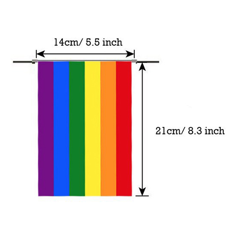 Gay Pride Rainbow LGBT Parade Festival Decoration Banner Bunting /& Party Bag