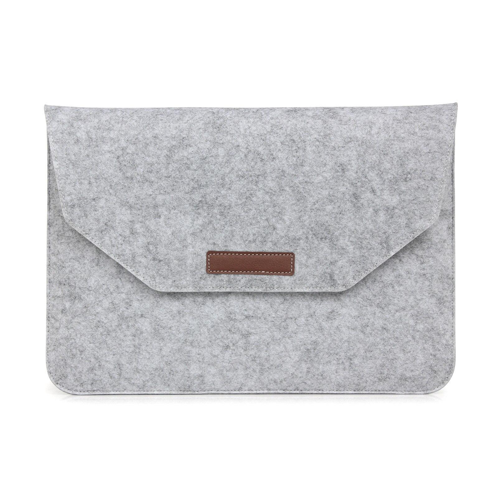 MacBook/iPad Gift Flat Sleeve Protective Case for Felt Apple Notebook Computer Bag