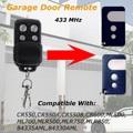 433 МГц 4 кнопки ворота гаражные двери пульт дистанционного управления Замена беспроводной для Chamberlain/Motorlift 84335 AML
