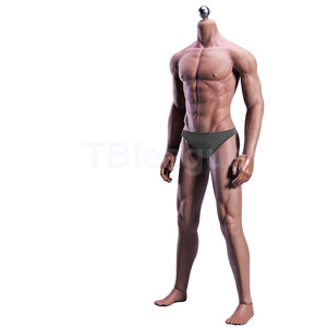 Image 2 - 1/6 Scale 12 Ultra Flexible Muscular Male Seamless Body Stainlee Steel Skeleton Rubber Human like Skin Bodies for 1/6 Head Toy