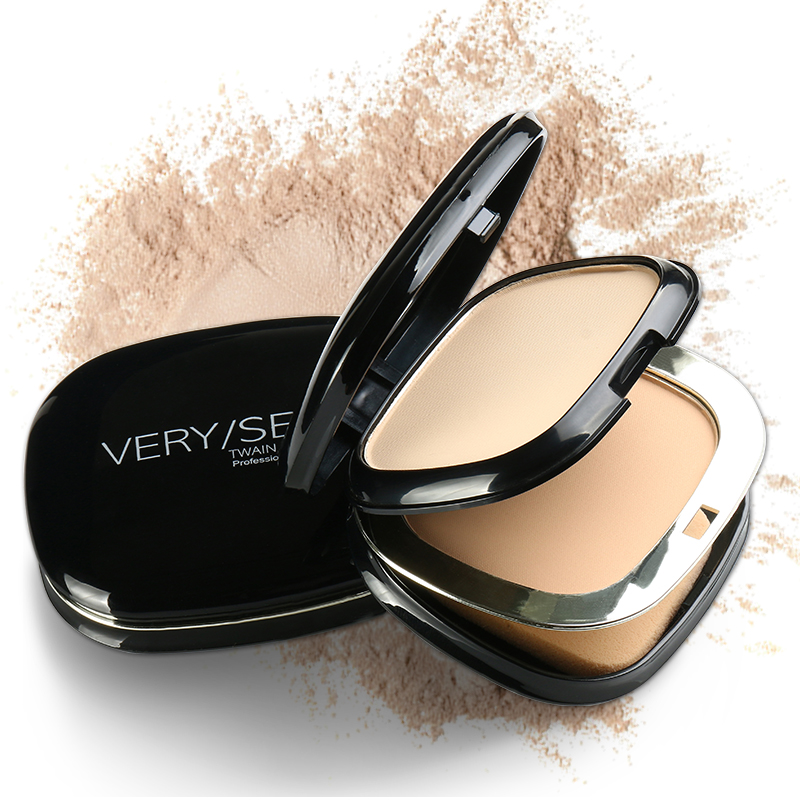 Mineral Pressed Face Powder Concealer Base Makeup Powder Foundation Highlight Compact Powder Makeup Oil control Powder