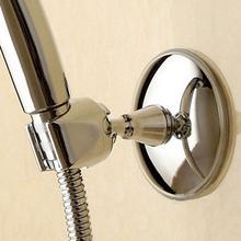 ABS ванная комната Регулируемая вакуумная стойка душевая головка держатель Съемный Серебряный присоска кронштейн для душа монтажные кронштейны