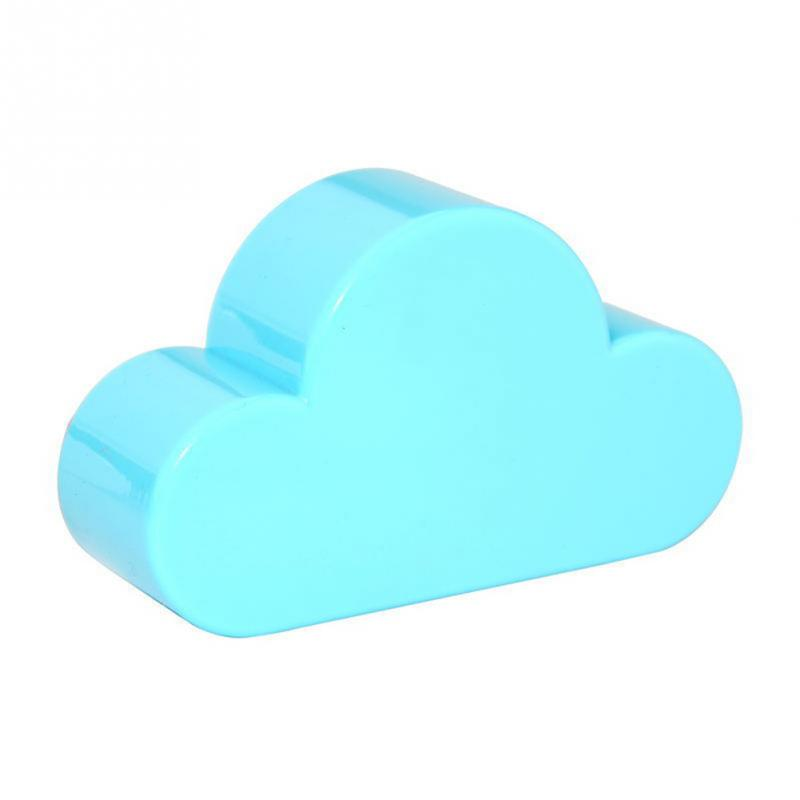 New Qualified Novelty Home Storage Holder White Cloud Shape Magnetic Magnets Key Holder