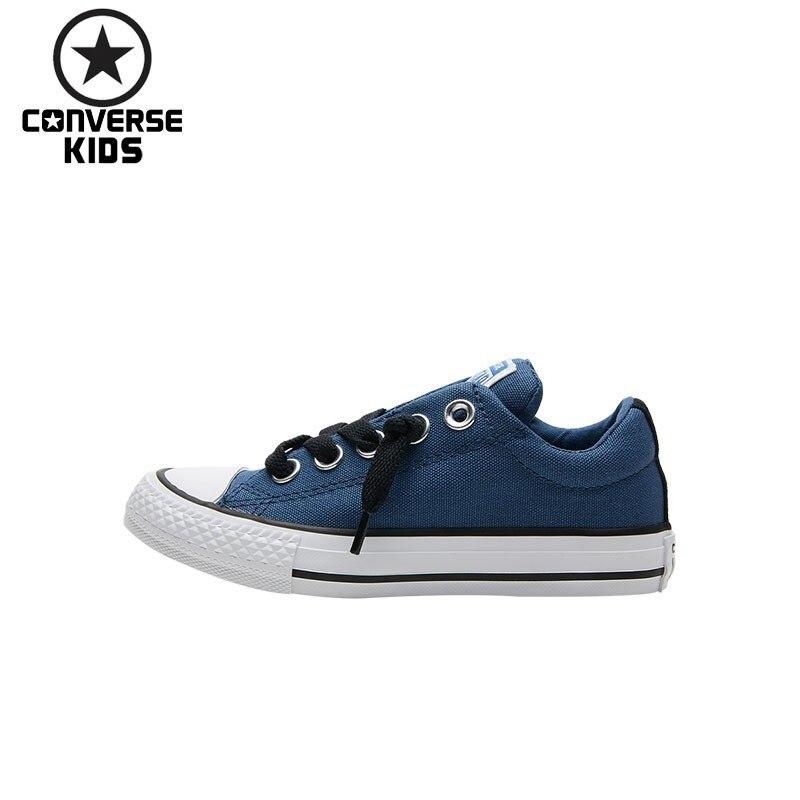 CONVERSE CONVERSE Child Shoes Catamite Low Help Canvas Shoe Children Leisure Time Shoes Male Children Low Help Sneakers low shoes cristin low shoes