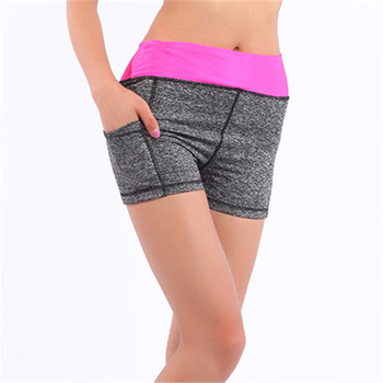 e2c6ecefda Jeseca de Fitness pantalones cortos de algodón elástico Casual corto Skinny  elevación de cadera transpirable fácil seco Mediados de cintura elástica ...
