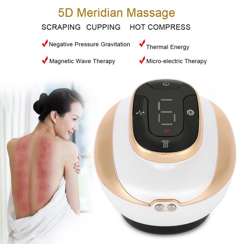 Güzellik ve Sağlık'ten Masaj ve Rahatlama'de 5D Guasha Emme Kazıma Masajı Elektrikli Çukurluğu Teşvik Acupoints Detoksifikasyon masaj aleti Manyetik Dalga Fizyoterapi'da  Grup 1