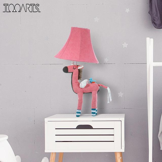 Pink Unicorn Table Lamp | Cotton Lamp for Children