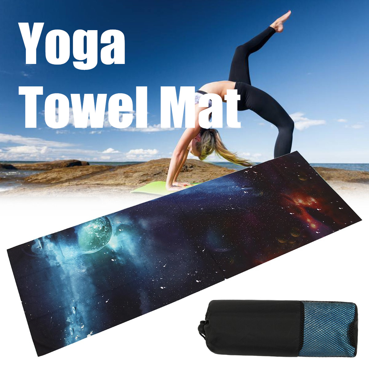 183x61cm Environmental Non-slip Yoga Mats For Fitness Pilates Mats Gym Exercise Carpet Mats Pads With Yoga Bags Sports Tools Vivid And Great In Style