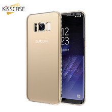 KISSCASE Diamond Case For Samsung A5 2017 A7 J7 J5 2016 Transparent TPU Galaxy Note 9 8 S9 S8 Plus