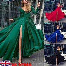 Hirigin Brand Sexy Maxi Dress 2019 Newest Vestidos Spring Autumn Women Evening Party Prom Gown Ladies Long Sleeve