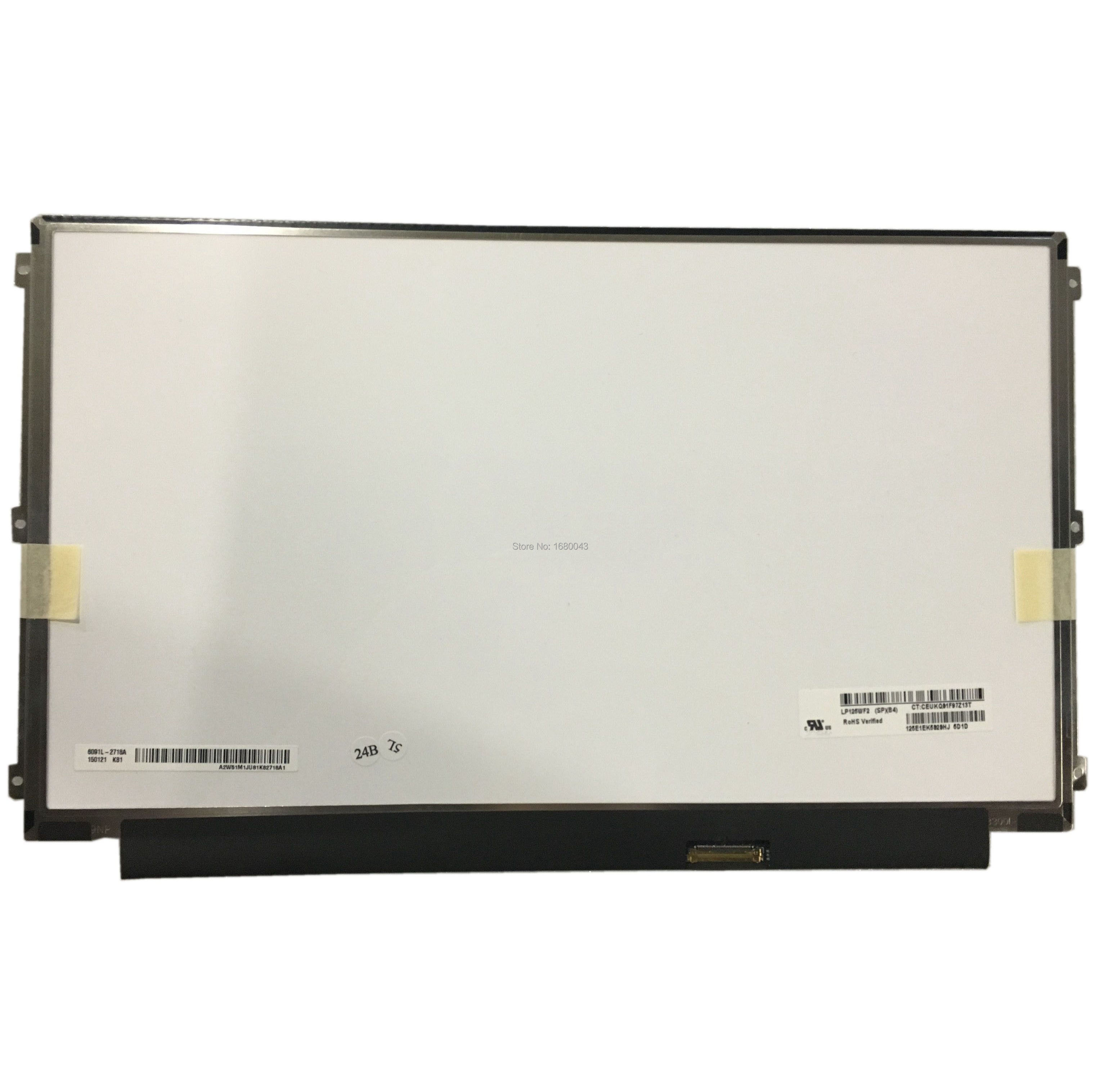 LP125WF2 SPB4 LP125WF2(SP)(B4) Exact Same Model FHD 1920X1080 30 pinLP125WF2 SPB4 LP125WF2(SP)(B4) Exact Same Model FHD 1920X1080 30 pin