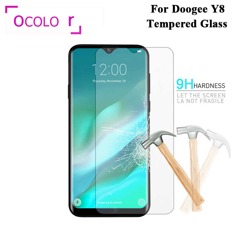 ocolor For Doogee Y8 Steel Tempered Glass Film Protective Replacement Screen Guard For Doogee Y8 Mobile Phone Accessories