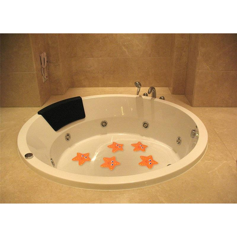 Bath Tub Non Slip Baby Kids Safety Treads Sticker Bathroom Applique Decal Starfish Waterproof And Anti Bacterial Bath Supplies