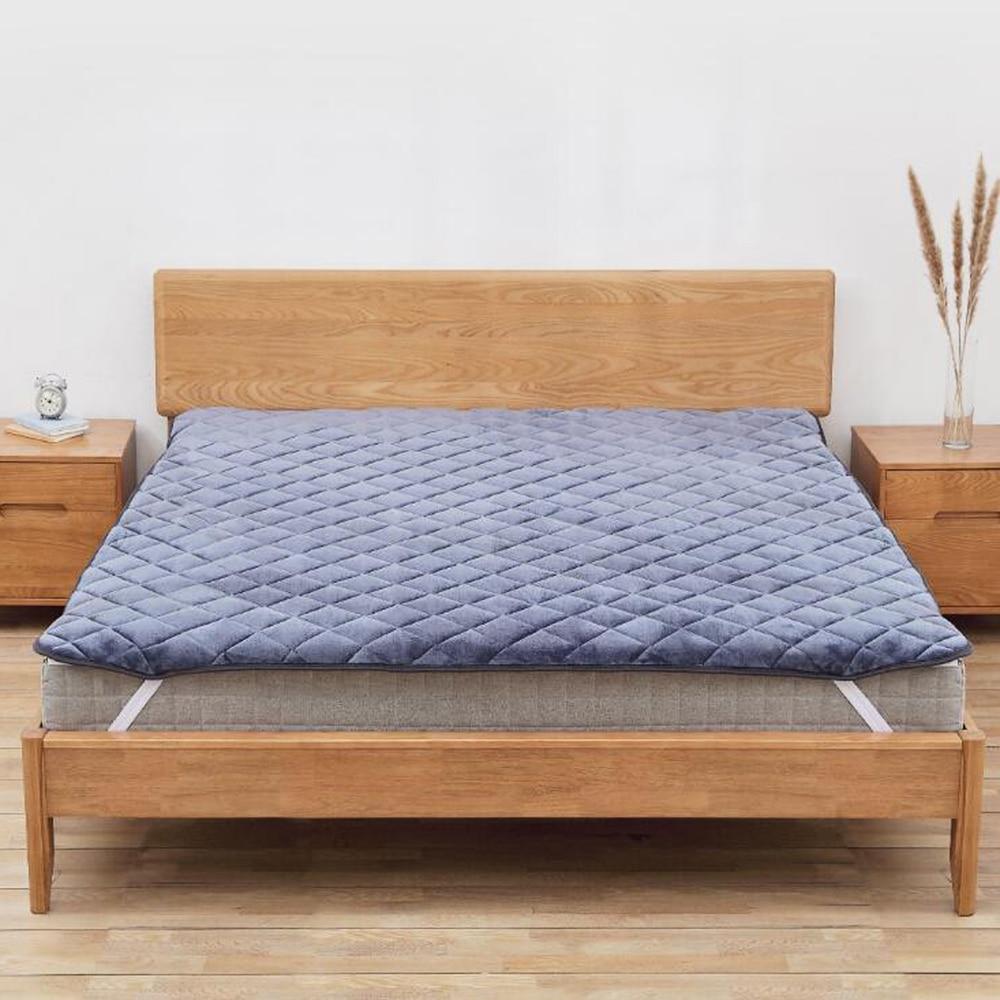 8H Anti Static Heat Storage Mattress Warm Bed Pad Comfortable Breathable Mattress Winter Keep Warm Bed Mattress Xiaomi in Blankets from Home Garden