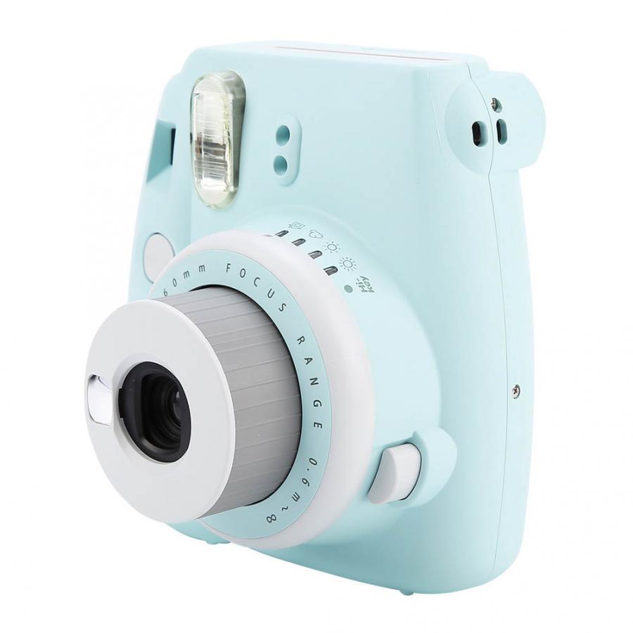 Original Fujifilm Fuji Instax Mini9 Mini 9 Instant caméra Film batterie sangle Photo appareil Photo anniversaire cadeau de noël