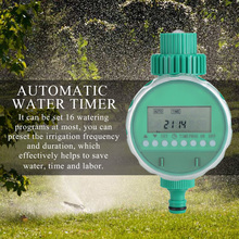 5pcs/set Garden Water Timer Watering Irrigation Controller Kit with Y-shaped Quick Connector  Plant Self Automatic Watering Time