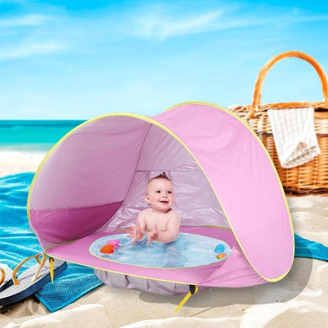 UV-Protecting Baby Beach Tent