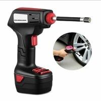 Portable air compressor cordless electric tire pump inflator ball tire pump details