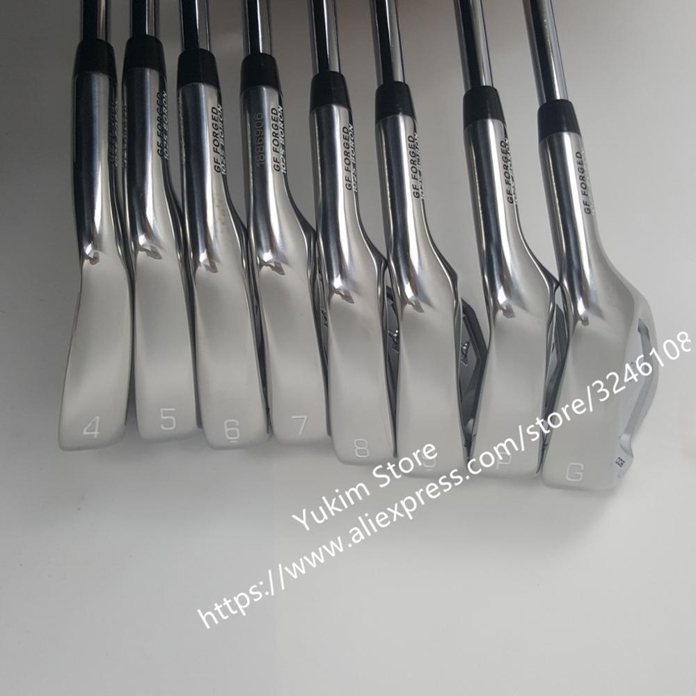 Golf Club JPX900 fer à repasser fer forgé fers 4-9PG R/S Flex acier (Graphite) arbre avec couvre-tête