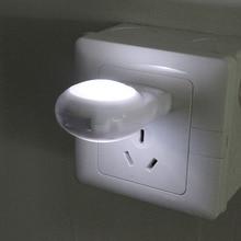 1PC Mini LED Snail Night light Auto Night Lamp Built-in Light Sensor Light Sleeping Lamp Socket For Baby Kids Bedroom EU/US Plug