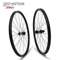 29er XC AM Carbon Wheelset For DT Swiss 240 Hub Series Mountain Bike Wheelset Chinese Carbon Rim 350g Weight Rim 28.61mm 22mm