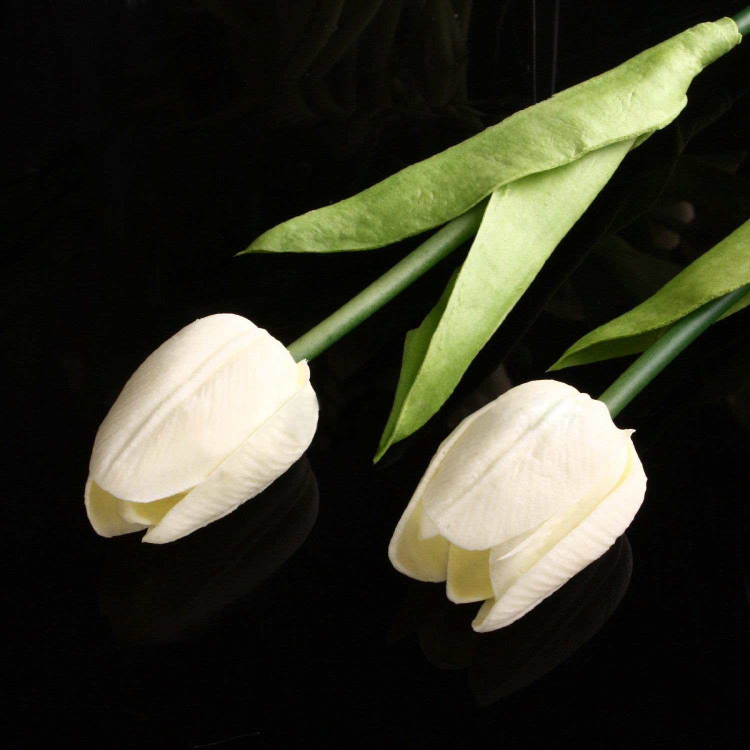 AFBC 20pcs Tulip Flower Latex Real Touch For Wedding Decor Flower Best Quality KC451