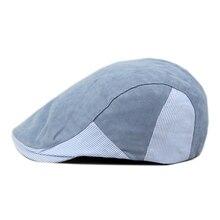 Marca de Color sólido boina para hombres sombrero gorra ajustable hombre  sombrero Primavera Verano al aire libre hueso Casual go. c8836ed36e3