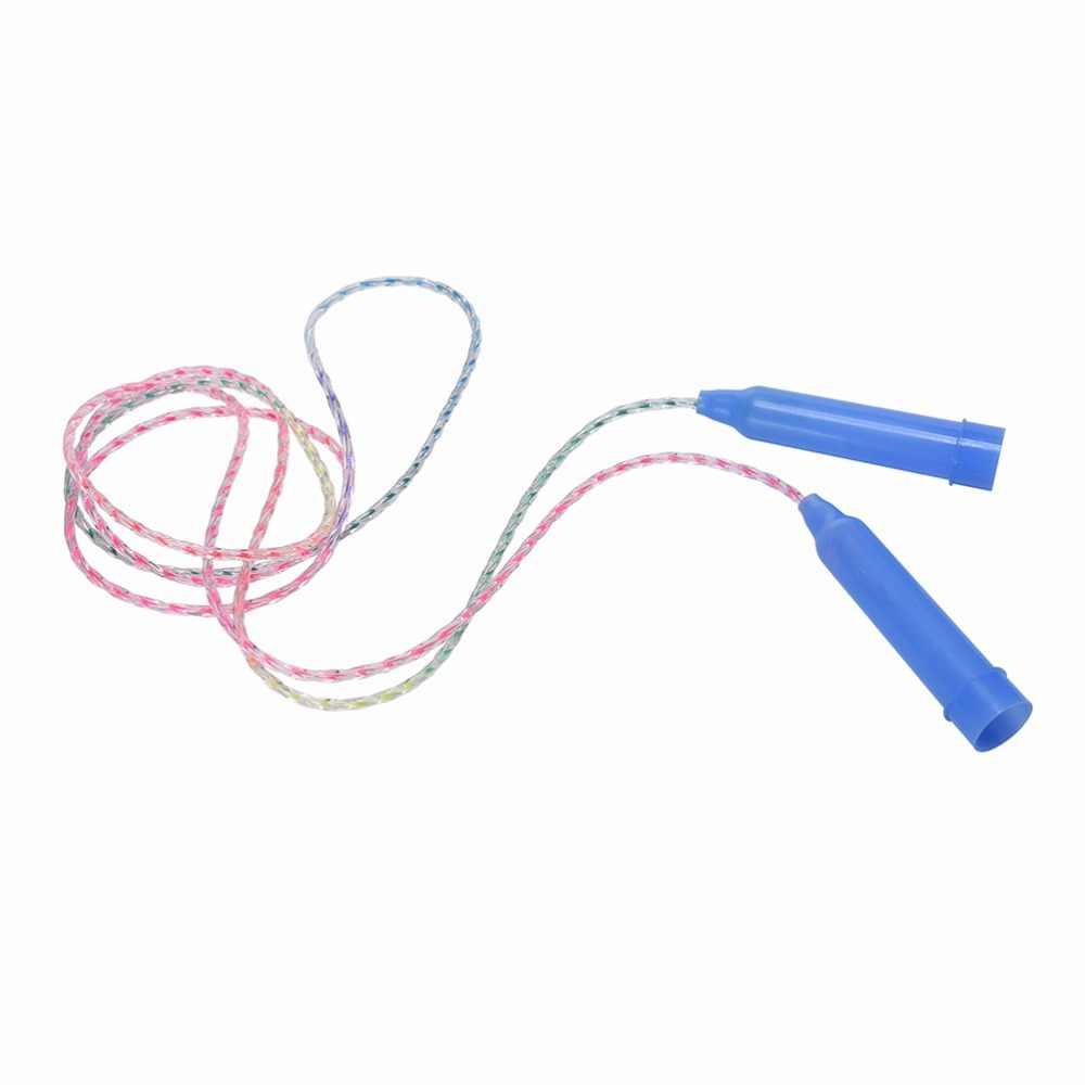 Gmarty 2M Portabel Anak-anak Jump Rope Training Soft PVC Skip Rope untuk Anak-anak Cepat Melewatkan CrossFit Kebugaran Olahraga Melompat tali