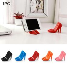 Stylish Silicone High-heeled Shoes Shape Mobile Phone Holder Stand for Mobile phone Tablet