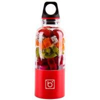 Ev Aletleri'ten Sıkacaklar'de 500 ml taşınabilir meyve sıkacağı bardağı USB şarj edilebilir elektrikli otomatik Smoothie sebze meyve suyu araçları Maker fincan blender mikser sıcak