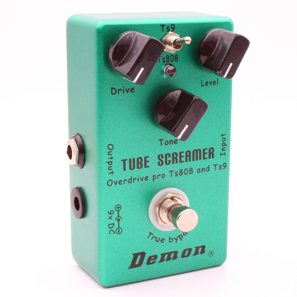 Tube Screamer Overdrive Guitar Effect Pedal TS9/<font><b>TS808</b></font> Mode Switch Handmade Stompbox image