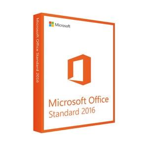 Microsoft Office Standard 2016 Product key for Windows Retail Box Inside DVD 1 User