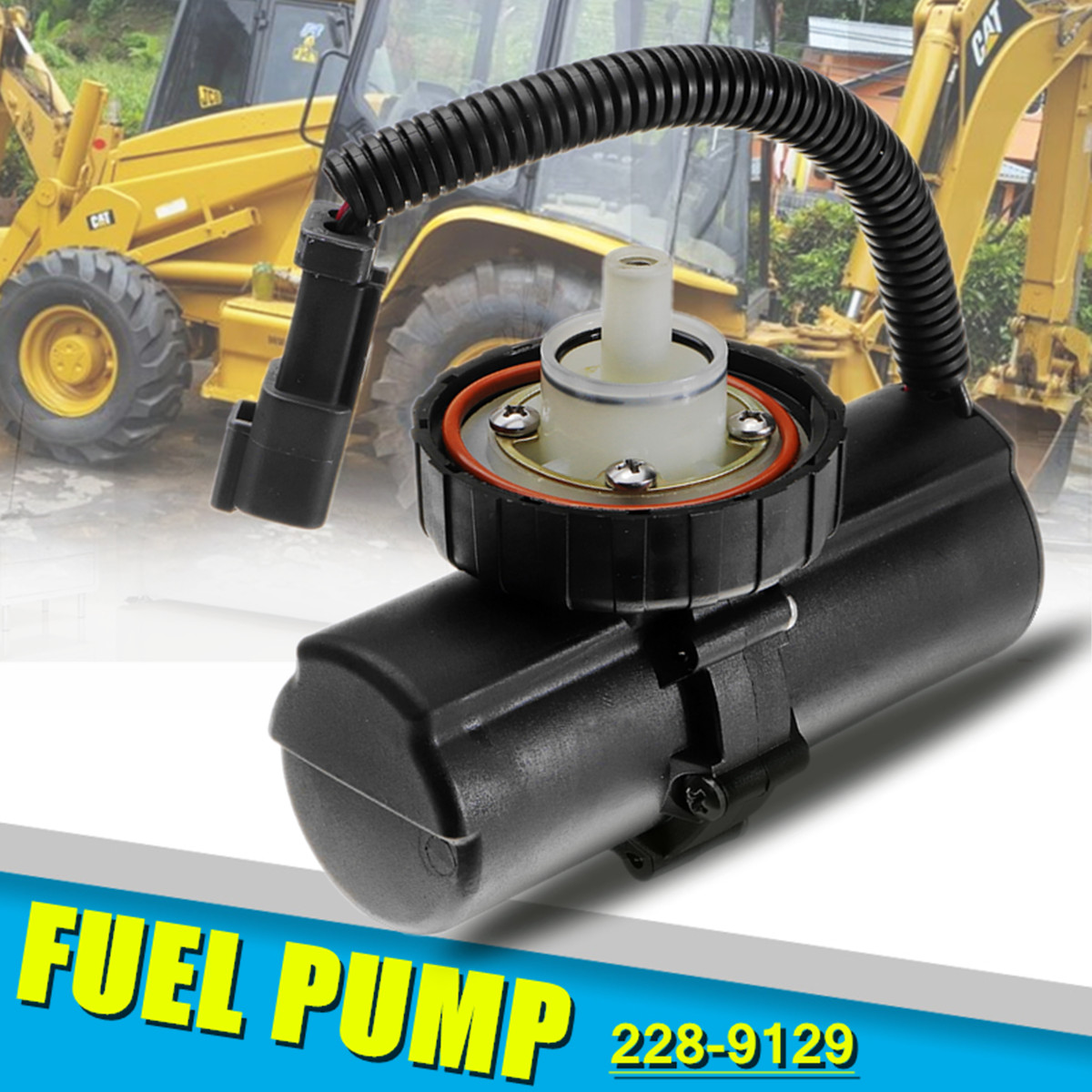 228 9129 2289129 Fuel Pump For Caterpillar Backhoe 414E 416D 416E 420D 420E 422E Stable Characteristics
