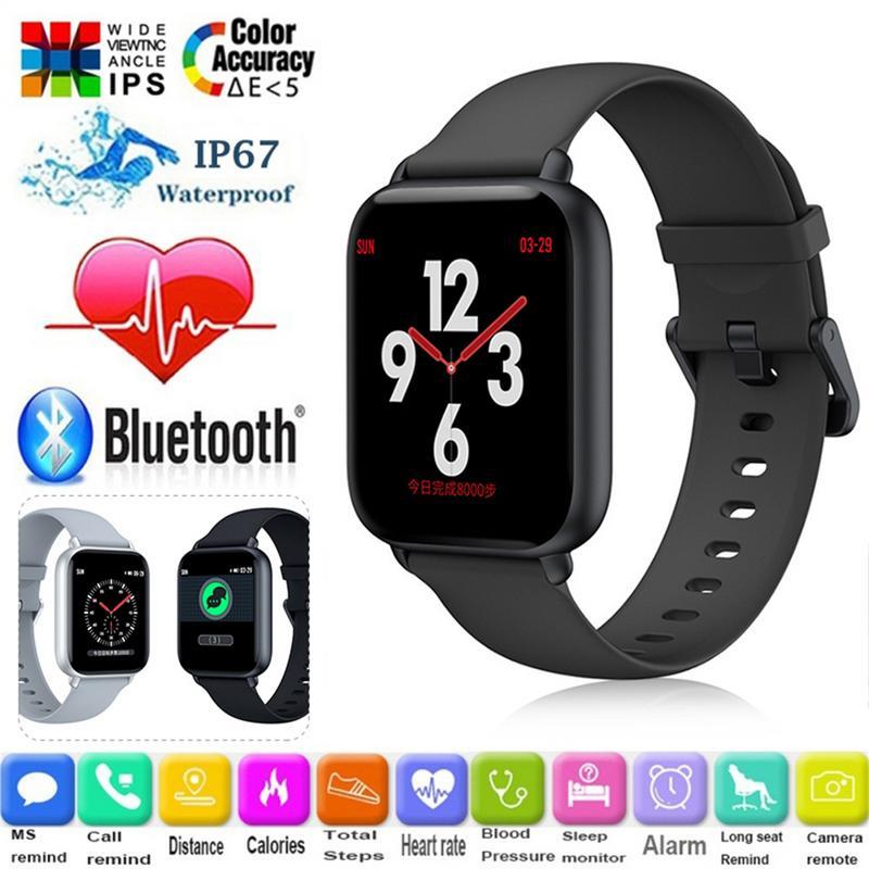 Здесь можно купить  11.11 New R1 Smart Watch Male Waterproof Multifunctional Sports Heart Rate Monitoring Smart Bracelet for Apple Android  Бытовая электроника