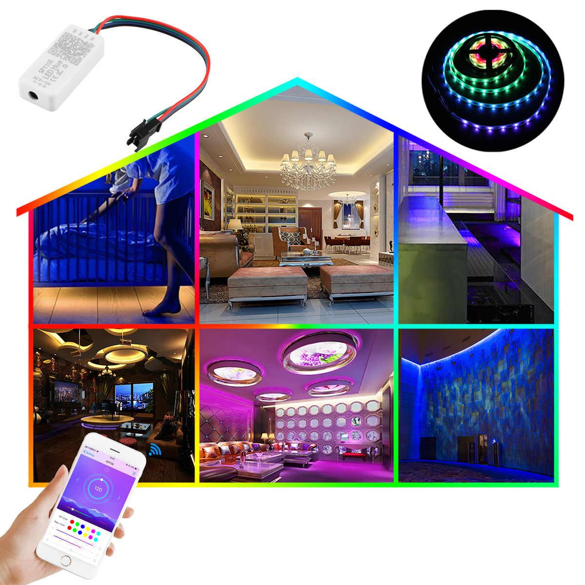 Волшебная полоска свет смарт-пульт дистанционного управления коммутатора Управление; RGB/RGBW волшебные огни светодиодный Pixel Газа смартфон приложение Управление DC5-12V