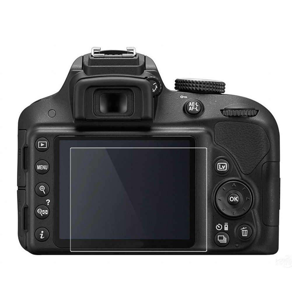 جديد كاميرا البصرية الزجاج المقسى LCD شاشة لوحة واقي الفيلم 0.4 مللي متر HD الحرس غطاء مقاوم للماء لنيكون D3100 D3200 D3300