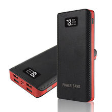 4 USB 50000mAh Power Bank LED External Backup Battery Charge