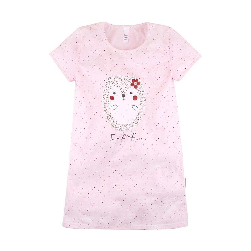 BOSSA NOVA Children Girl's Pink Nightdress 358K-171r smile print nightdress