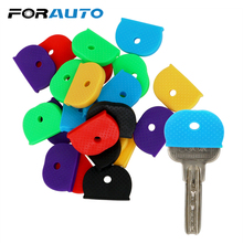 FORAUTO Car Key Protector Cover Key Bag Caps Car Key Case Shell 24/32 Pieces Pack Keyring Rubber Car styling Elasticity