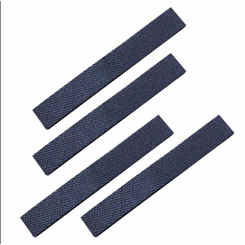 4pcs Wheel Tire Leather Fetal Skin Replacment For IRobot Braava 320 380 381 380T 390 390T Mint 4200 4205 5200 5200C