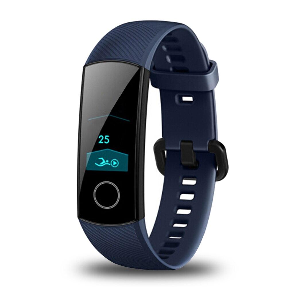 2018 huawei Honneur Bande 4 montre connectée IP68 Étanche bracelet bluetooth Fréquence Cardiaque Sommeil podomètre moniteur d'activité huawei montre connectée - 6