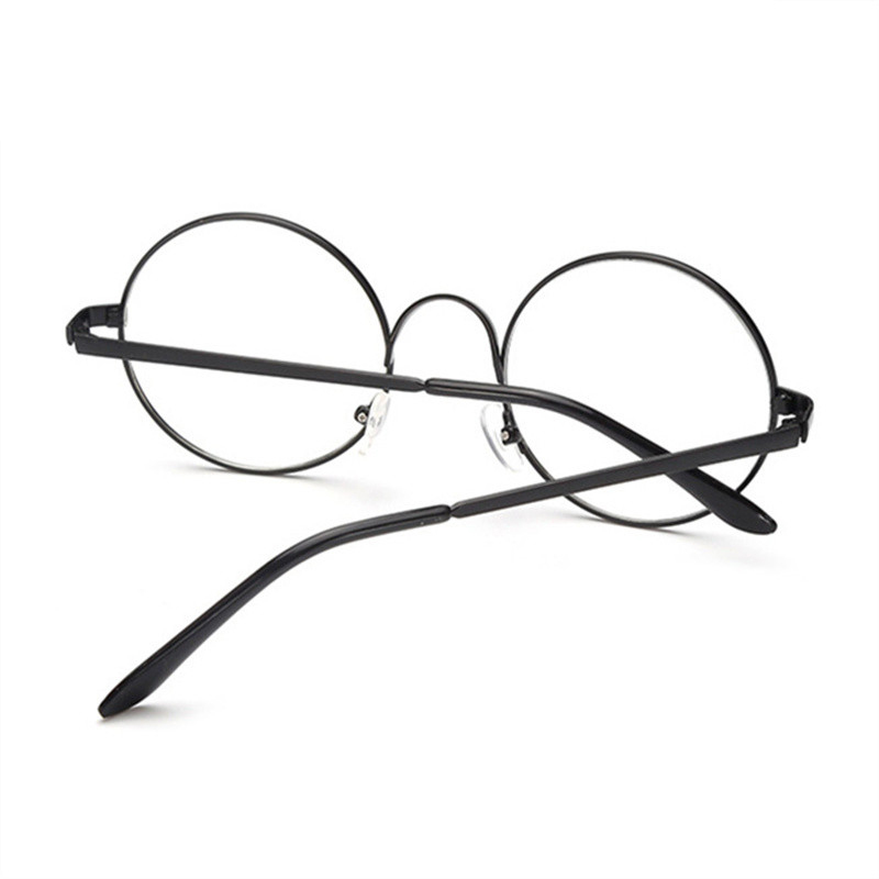 Vintage Retro Clear Round Glasses Women Classic Optics Eyeglasses Men Spectacle Frame Transparent Lens Optical Party Eyewear in Men 39 s Eyewear Frames from Apparel Accessories