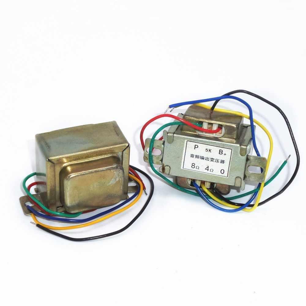 5 18K 3 ワットシングル 6P1 6P14 チューブアンプの出力オーディオ変圧器輸入 Z11 出力 0- 4-8 オーム 1 個