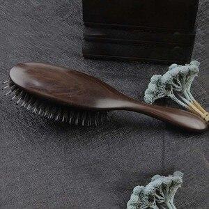 Image 2 - Профессиональная расческа для волос Sandalwood, Антистатическая щетка для волос, для ухода за здоровьем, для укладки волос