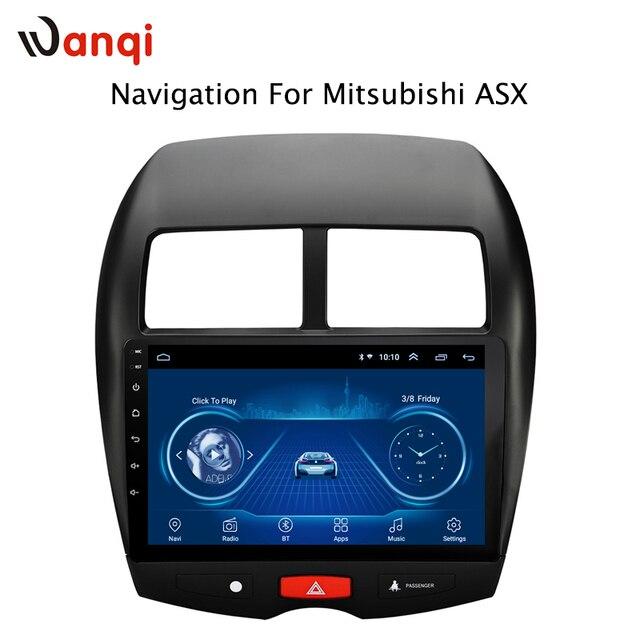 10.1 polegada 8.1 Android para Mitsubishi ASX (2013-2015) carro DVD GPS Navigation Radio Audio Video Multimedia System